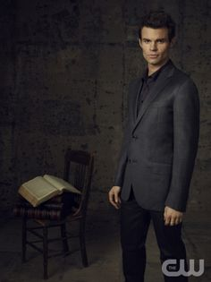 THE VAMPIRE DIARIES Pictured: Daniel Gillies as Elijah. Image Number: VD4_Elijah_Canvas_1598ra.jpg. Photo Credit: Justin Stephens/The CW. © 2012 The CW Network, LLC. All rights reserved.