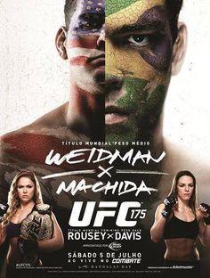 UFC 175 event poster