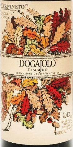 Carpineto Dogajolo Rosso Toscana 2013: Incredible! A pleasant, full-bodied Italian red wine blend of Sangiovese and Cabernet Sauvignon ... Natalie's Ranking >