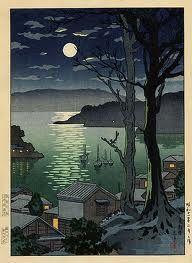 Tsuchiya Koitsu - Maizuru Harbor at Night