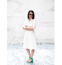 Editor's Style Sally Holmes - Summer Street Style NYC May 27 - Elle x