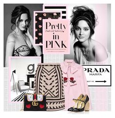 """I Wear Pink for..."" by bklana ❤ liked on Polyvore featuring Prada, Gucci, Temperley London, Kate Spade, Dolce&Gabbana, IWearPinkFor and bklana"