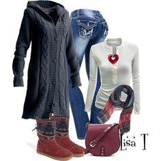 """""""Can It Get Any Colder?"""" by lkthompson on Polyvore"""