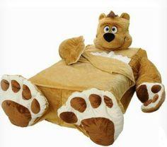 How'd you like to sleep with this teddy bear?