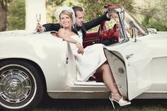 good wedding photography with a car - Google Search