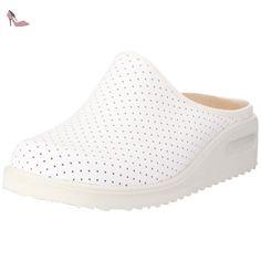 Noppen-Sandale, Claquettes mixte adulte - Blanc (White 100) - Gr.36 2/3 EUBerkemann