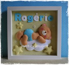 Um ursinho fofo para o Rogério, que acabou de nascer!