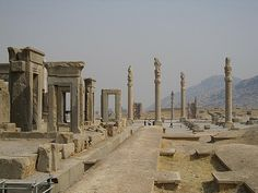 Persepolis, Iran  Its awesome, you know its ancient..