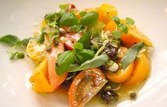 Tom Aikens | Tomato & Spring Onion Salad