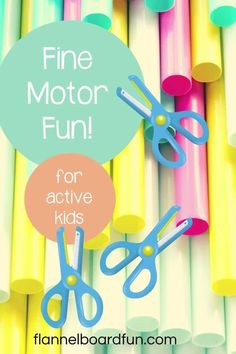 At home, in a classroom, or in a homeschool classroom--these fine motor activities are simple, effective, and most importantly--FUN! Come play along! #flannelboardfun #finemotor #preschool #play Halloween Activities For Toddlers, Preschool Art Activities, Preschool Projects, Motor Activities, Holiday Activities, Infant Activities, Preschool Painting, Learning Through Play, Fine Motor