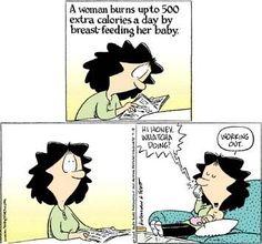 10 Hilarious Comics About Breastfeeding