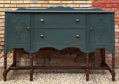 Buffet In Subtle Green | General Finishes Design Center