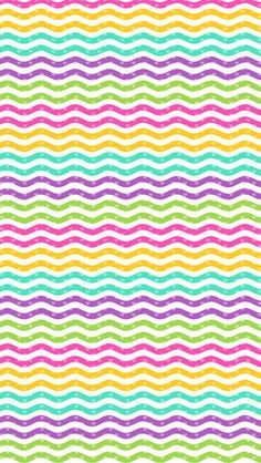 Colorful squiggly lines wallpaper ♡ love em 2019 декоративна Chevron Wallpaper, Lines Wallpaper, Colorful Wallpaper, Wallpaper Backgrounds, Wallpaper For Your Phone, Cellphone Wallpaper, Iphone Wallpaper, Die Dinos Baby, Hello Kitty Wallpaper