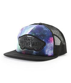 4e329e5c0d8 Vans Beach Girl Galaxy Trucker Hat