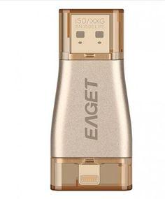 EAGET i50 Flash drive for iPhone, iPad, Apple Computers USB 3.0 flash drive