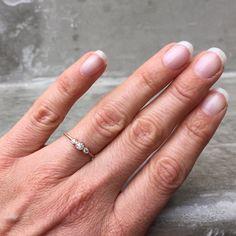 Diamond Ring Engagement Ring Diamond Engagement Ring by NIXIN
