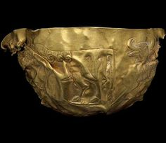 Gold bowl from Tepe Fullol, Afghanistan 2200–1900 BC