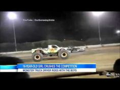 Teenage Girl Monster Truck Driver Crushes Competition