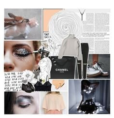 """❁; hope you haven't left without me // addy's 12 sets // day three // TESTING TAGS"" by when-it-rains-it-pours ❤ liked on Polyvore featuring Topshop, INDIE HAIR, Chanel, Assouline Publishing, Clips, ASOS, Monki, Old Navy and addys12sets"
