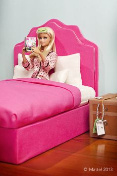 Barbie is Moving - Mattel Promo Photo (April 8-Time to catch up on Famous Magazine and get my beauty sleep!)