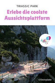 Steinplatte Triassic Park in Waidring Wanderlust, Hiking With Kids, Flagstone, Holiday Travel