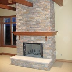 Spanish Style Fireplaces Stone Trumeau In A French