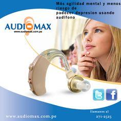 Más agilidad mental y menos riesgo de padecer depresión usando audífono .