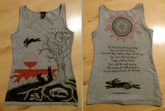 Watership Down Shirt Design by TainTed-LoVe92.deviantart.com on @DeviantArt