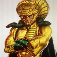 Serpentor by Jarreau Wimberly