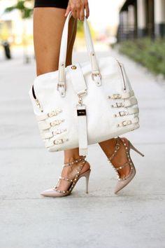 Jimmy Choo Shoes & Valentino Handbag