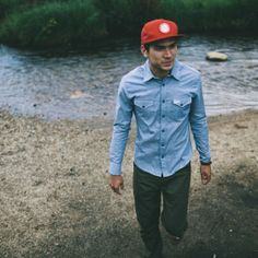 The Topo Shirt is a classic do it all button down that is just at home on the trail as it is in town. It has a trim fit with subtle western styling on front and back. Crafted from 100% cotton chambray and best of all it is made right here in Colorado.