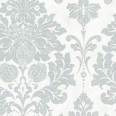 Poster Sticker Wallpapers Haikou Grey 3d Victorian Damask