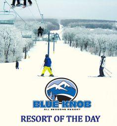 Resort of the Day: Blue Knob All Seasons Resort, Claysburg. How many of you love to ski Blue Knob?  http://www.blueknob.com/ http://skipa.com/resort-info/ski-resorts/a-b-resorts/blue-knob-ski-area