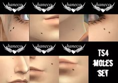 TS4 Moles set01 | HANECO's CC BOX      Male/Female T/A     Clothing type>Skin Detail  haneco ts4 moles set01.package     Clothing type>Eyeliner  haneco ts4 moles set01-Meyeliner.package  haneco ts4 moles set01-Feyeliner.package    【Download>Sim File Share】