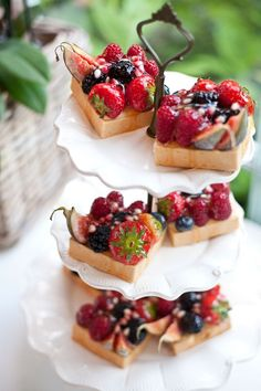Summer garden party, Fruit Tarts for Tea
