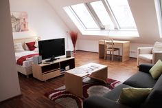 Vienna, Centre, Fitness Studio, Table, House, Furniture, Home Decor, Attic Rooms, Decoration Home