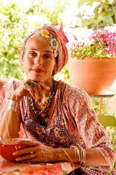 Boho is ageless. Boho Chic, Bohemian Mode, Bohemian Style, Bohemian Clothing, Hippie Stil, Estilo Hippie, Modern Hippie, Gypsy Style, Boho Gypsy