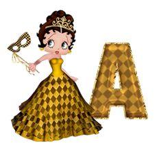 ღღEl Rincón De Betty Boop ღღ: Abecedario princesa Betty Boop