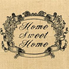 Home Sweet Home advertising vintage large image flower print on iron original… Vintage Pictures, Vintage Images, Vintage Designs, Embroidery Patterns, Print Patterns, Pretty Images, Decoupage Paper, Vintage Ephemera, Flower Prints