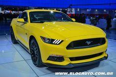 Ford nega, mas deve lançar novo Mustang no Brasil em 2015 - Blogauto