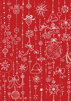 images about Christmas stuff on Pinterest | Christmas scrapbook paper ...