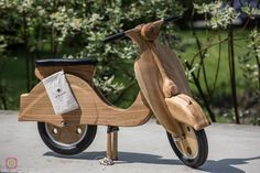 http://polandhandmade.pl #polandhandmade #woodenvespa  #woodentoy