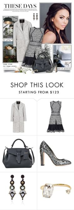 """These Days"" by thewondersoffashion ❤ liked on Polyvore featuring Topshop, Oscar de la Renta, Lancel, Dolce&Gabbana, Naeem Khan and Alexis Bittar"