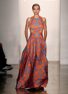 Would love to make an ankara into this style.