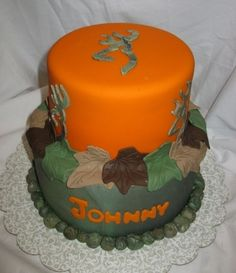 Camo Browning Symbol By Doobie on CakeCentral.com
