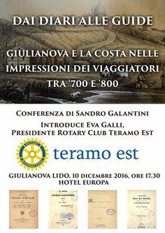Giulianova conferenza  dello storico Sandro Galantini
