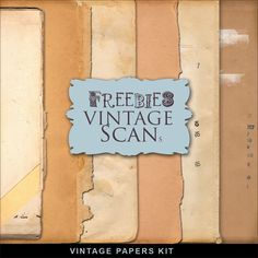 New Freebies Book Papers Kit