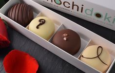 Introducing our Valentine's Day Collections: Love at First Bite & Love You Mochi Much: https://mochidoki.com