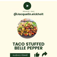 Taco stuffed bell pepper!! So amazing 🥰🥰🥰🥰🥰 #Regram via @www.instagram.com/p/CQ6RTqRJ2zn/ Clear Skin Fast, Clear Skin Tips, Acne Clearing Foods, Clear Skin Routine, Glowing Skin Diet, Anti Inflammatory Recipes, How To Treat Acne, Bell Pepper, Acne Treatment