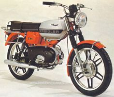 Kreidler Florett TM Super Griechenland Small Motorcycles, Vintage Motorcycles, 50cc, Mopeds, Mini Bike, Classic Bikes, Motorcycle Bike, Cool Gadgets, Motor Car